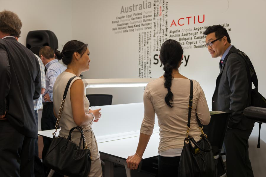Actiu Sidney Showroom