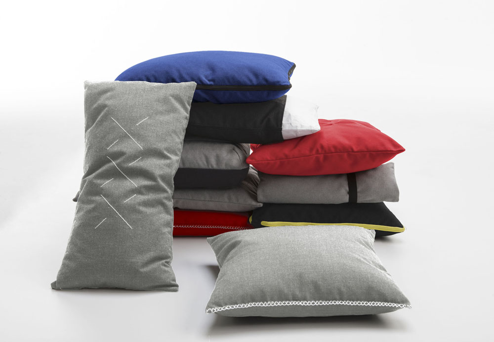 Set de cojines Pillows, para Viccarbe.