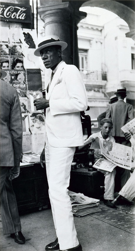 "Walker Evans: ""Havana citizen"" (1993)"