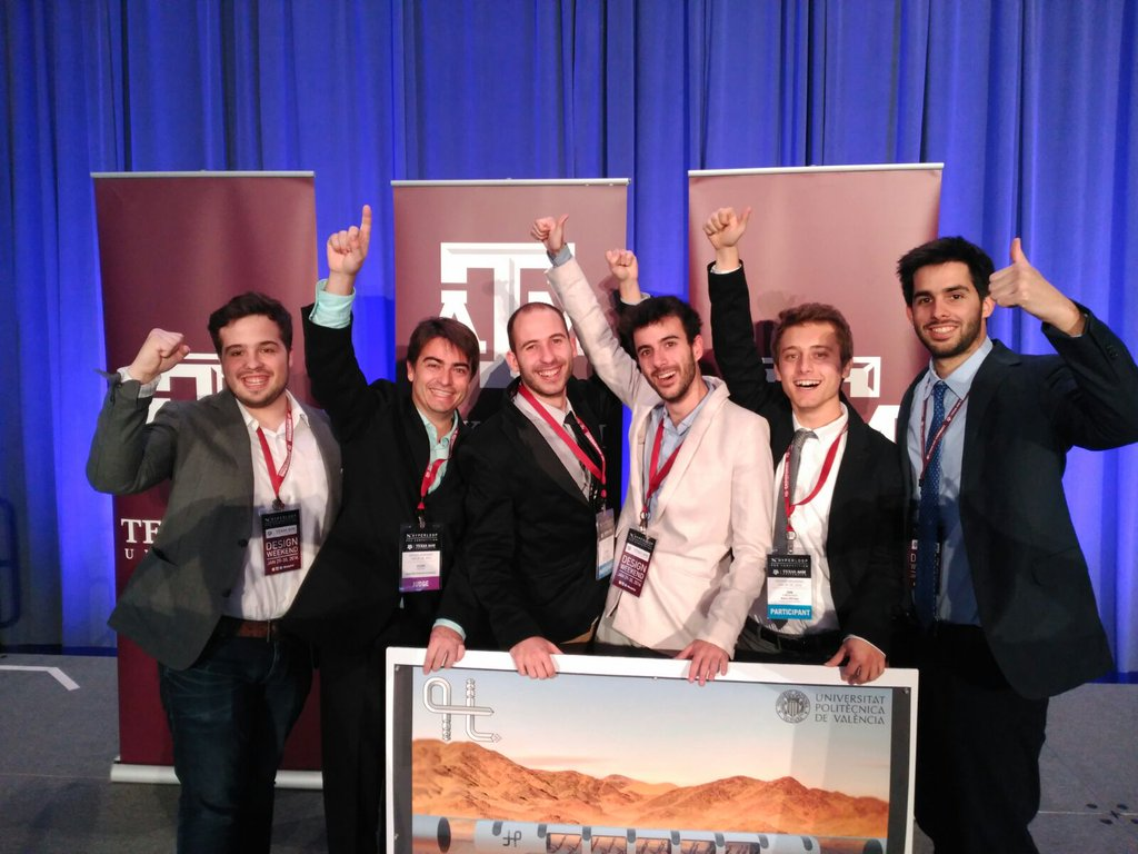 dissenycv.es-Hyperloop Design Weekend Winners