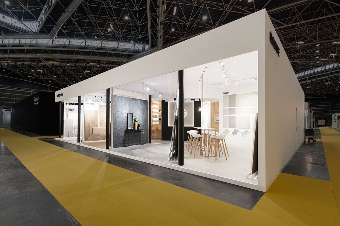 Simple Exhibition Stand Questions : Proyecto stand durstone por vxlab dissenycv