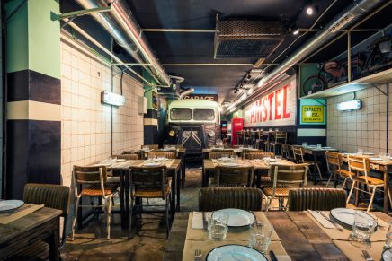 Proyecto: N5 Burger Garage, por Francisco Segarra